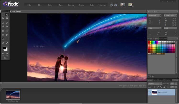 Foxit Studio Photo 3.6.6 圖像編輯軟體 英文版
