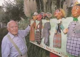 Νίκος Ακίλογλου - Ο κουκλοπαίχτης + οι 5 κούκλες Χιτλερίνης + Μισελίνης + Μπαρμπα-Γιώργος + Χάνος + Γαρίδας [1995] - 18242