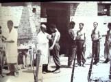 1944-07-27 - Κρύα Βρύση - Οι εθελοντές του συνταγματάρχη Πούλου - Eμβολιάζονται κατά της χολέρας και του τύφου - eee emvoliazontai apo nazi