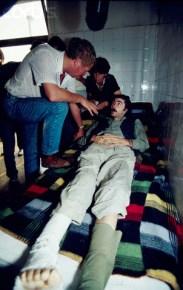 09 Aug 1992, MANJACA, Bosnia and Herzegovina --- EVENTS IN BOSNIA HERZEGOVINA --- Image by © Patrick Robert/Sygma/CORBIS
