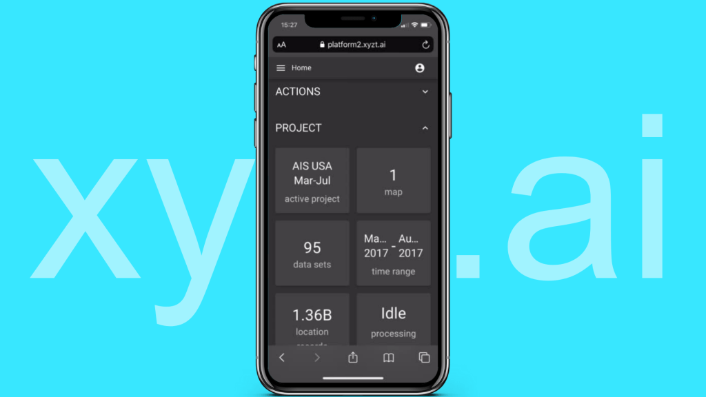 Need to handle billions of points of data on your mobile? xyzt.ai can!