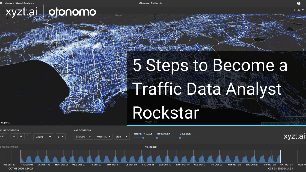 A picture redirecting you to rewatch the otonomo and xyzt.ai webinar where you will learn how to become a traffic data analyst rockstar.