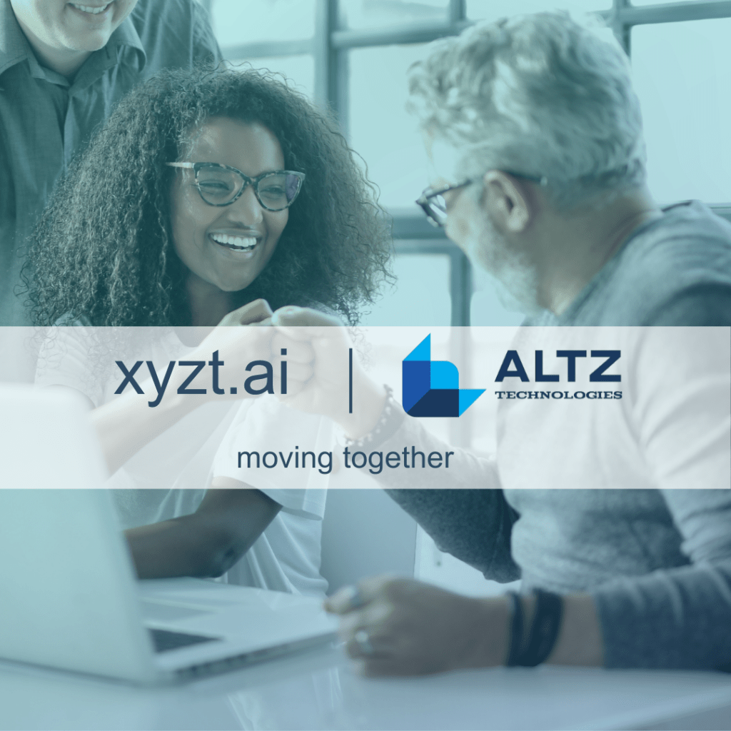 xyzt.ai announces the appointment of Altz Technologies as its partner in India