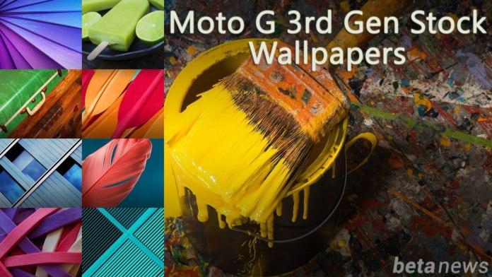 Download Moto G 3rd gen 2015 wallpapers