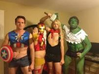 big fun with the Hulk and his friends