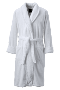 Personalized White Bathrobe