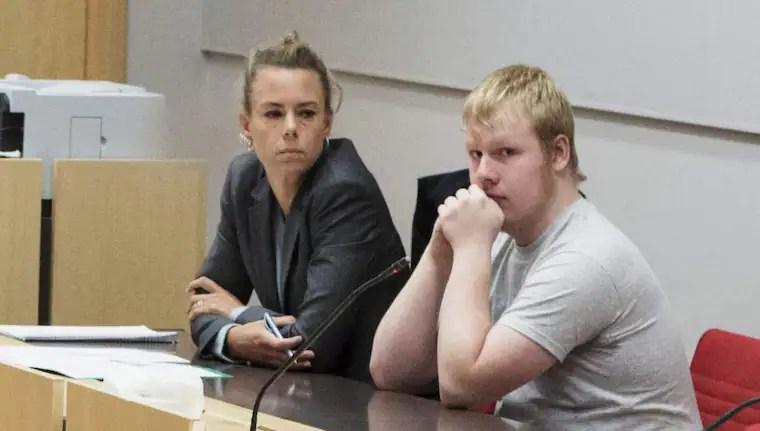 """Kristoffer Andersson, 19, begav sig ut i motionsspåret för att """"lugna sig"""". Men sedan såg han Ida Johansson, 21 – och följde en impuls att mörda henne. Foto: Olle Sporrong"""