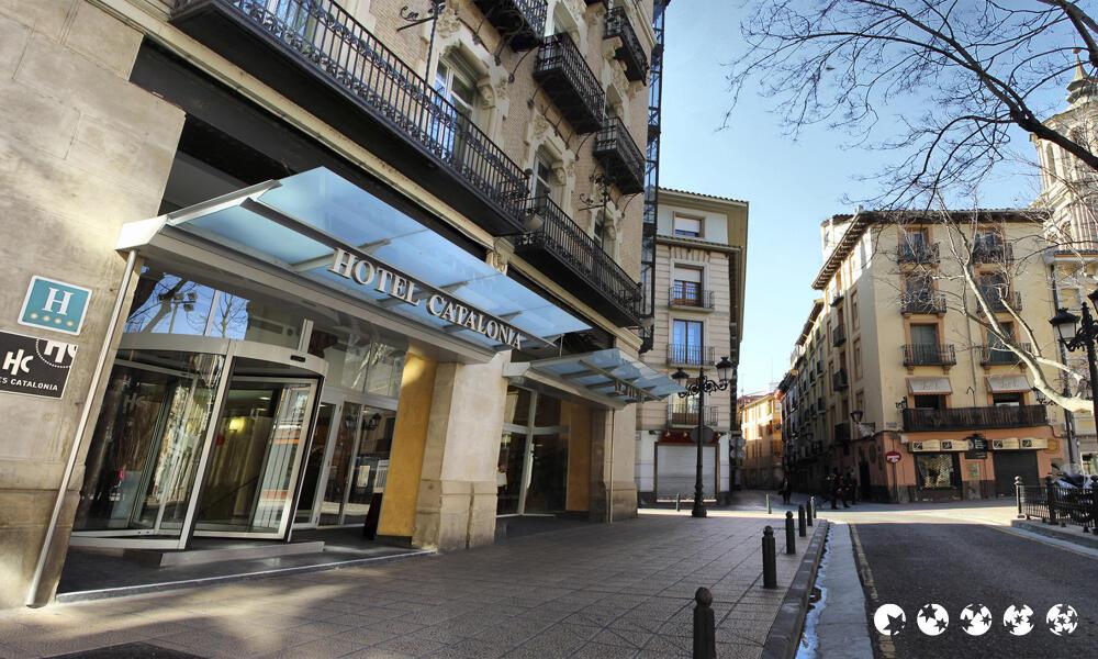 Hotel Catalonia El Pilar Zaragoza  Centraldereservascom