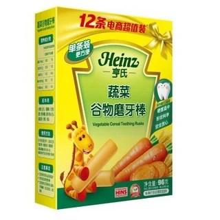 【Heinz/亨氏磨牙棒】Heinz 亨氏 蔬菜谷物磨牙棒 96g【報價 價格 評測 怎么樣】 -什么值得買
