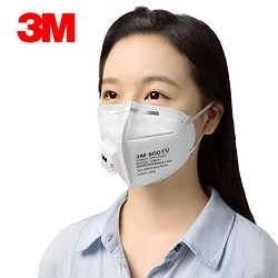 3M 9001V/0992V 頭戴式/耳戴式 獨立包裝 帶呼吸閥口罩 3只 6.5元包郵(需用券)_天貓精選優惠_什么值得買