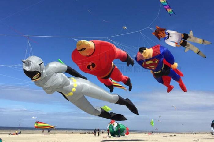 2019新竹市國際風箏節活動節目表、停車跟接駁車交通資訊整理!超人特攻隊、貓女等風箏主題秀將在新竹漁港登場