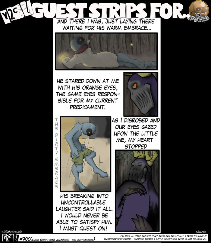 Guest Strip For #11 – The Luminaries The Dirty Embrace