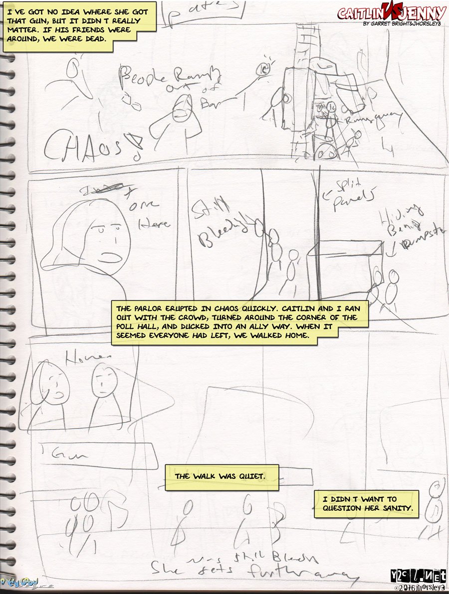 Caitlin Vs Jenny Page 5 – Sanity Question
