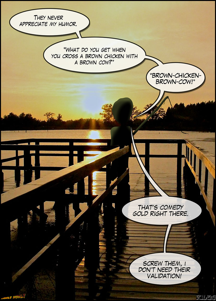 24 Hour Comics Day 2016 – The Search for Jeffers: Sunset Fishing