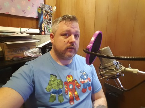Me and my Avengers Minecraft shirt.