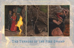 Princess Bride - Terrors of the Fire Swamp-1