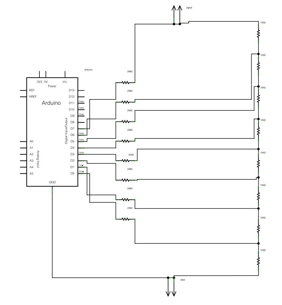 medium resolution of  r 2r ladder dac circuit image