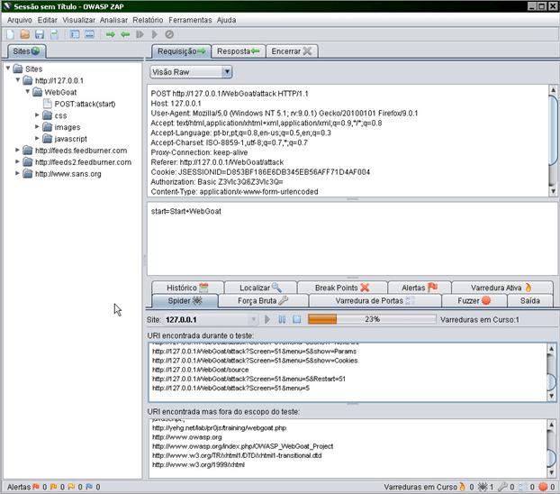 ZAP - Zed Attack Proxy (2/4)
