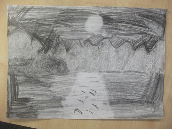 Pencil Drawings Art Welton Primary School