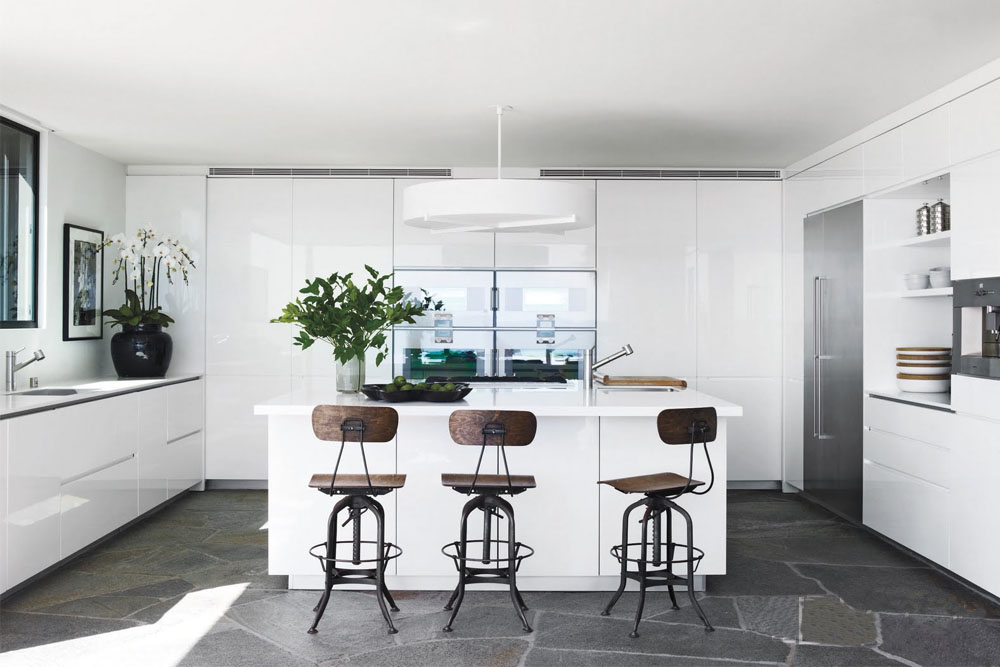 The White and Bright Kitchen  The Chriselle Factor