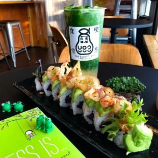 Green Vegan Roll