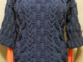 руловер, женский, вырез лодочка