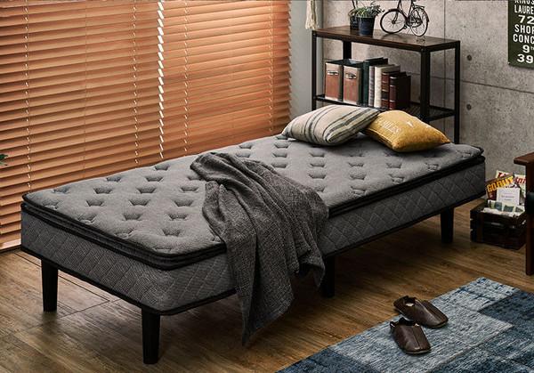 高級ホテル仕様のマットレスベッド