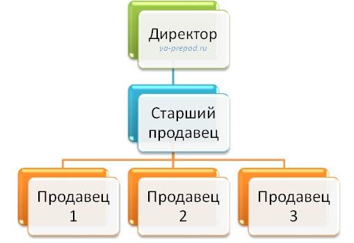 Пример линейной структуры ya-prepod.ru