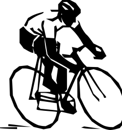astonishing cycling clip art bicycle clipart sport clipart free library [ 1000 x 971 Pixel ]