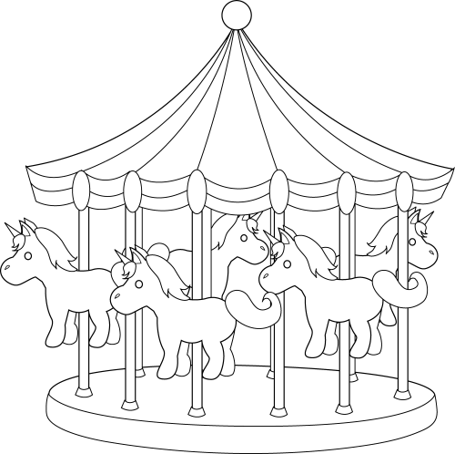 small resolution of carnival clipart line carousel art free clip picture freeuse library