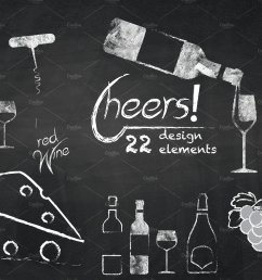 chalkboard clipart wine cheers cliparts illustrations creative jpg [ 1800 x 1200 Pixel ]