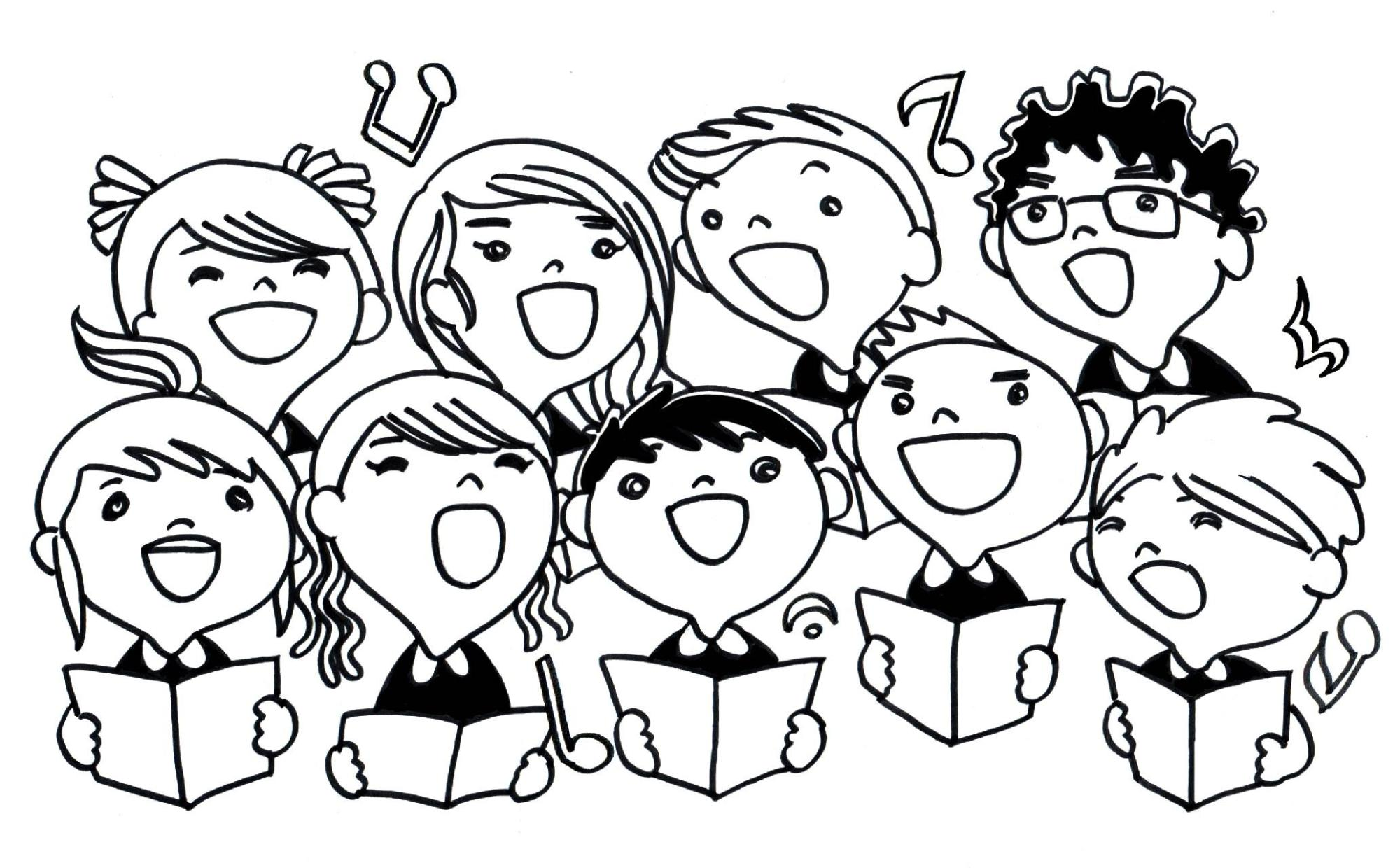 hight resolution of choir clipart thing best design clip free library