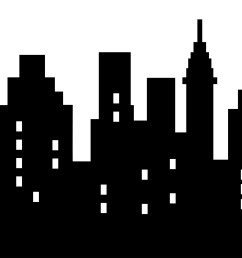 city clipart sky scrapers skyscraper png black and clipart black and white download [ 2400 x 1639 Pixel ]