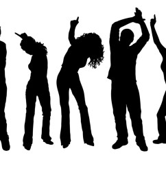 dancer clipart party dance silhouette at getdrawings vector black and white stock [ 2000 x 1333 Pixel ]