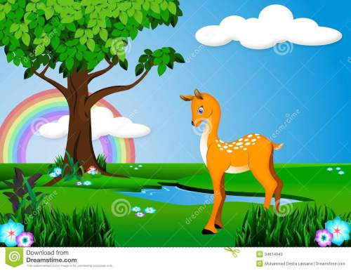 small resolution of deer clipart forest banner free stock