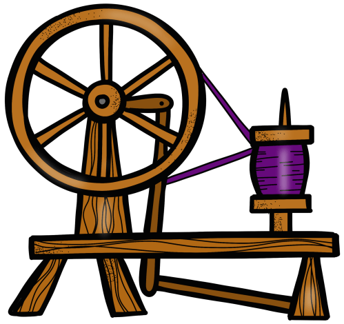 small resolution of spin clip wheel spinning sleeping beauty spindle