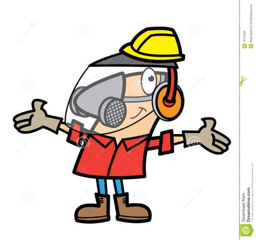 small resolution of free work safety cliparts cartoon man wearing safety equipment stock vector