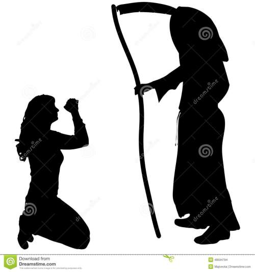 small resolution of female clipart grim reaper vector silhouette of a graphic freeuse library