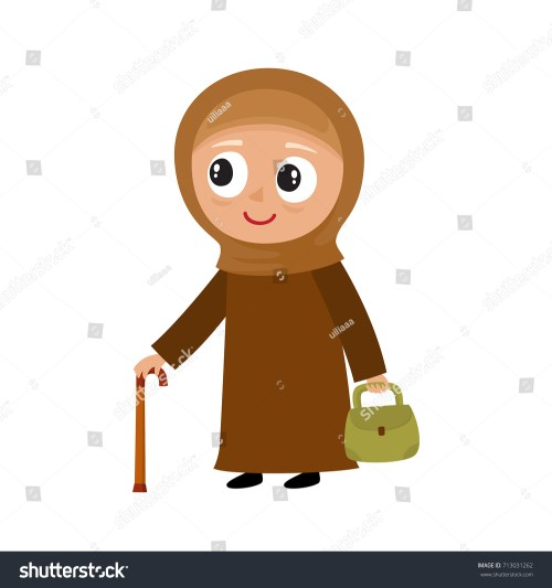 small resolution of grandmother clipart islamic image black and white