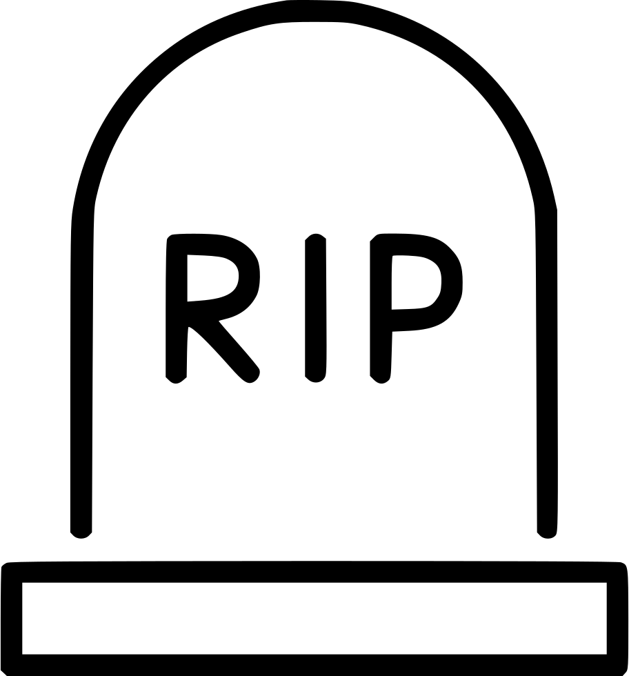 hight resolution of rip tombstone rest png gravestone clipart svg banner freeuse library