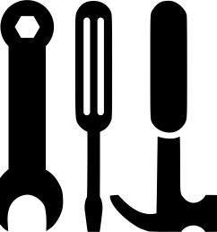hammer clipart hammer screwdriver wrench and big image [ 2400 x 2366 Pixel ]