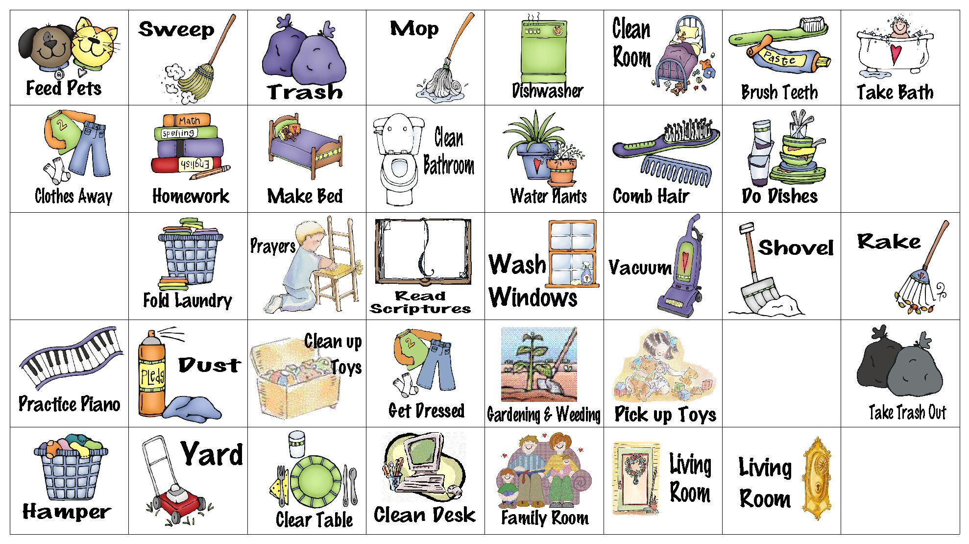 hight resolution of chores clipart job chart wfmw chore graphics kids freeuse
