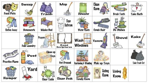 small resolution of chores clipart job chart wfmw chore graphics kids freeuse