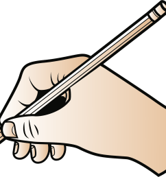 pencil writing clipart png with big image freeuse library [ 2383 x 1898 Pixel ]