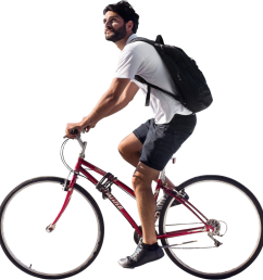 free cycling clipart peoplepng person riding bike png jpg royalty free library [ 984 x 1024 Pixel ]