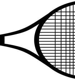 racket clipart lawn tennis cilpart merry recommendations racquet svg library stock [ 2700 x 1022 Pixel ]