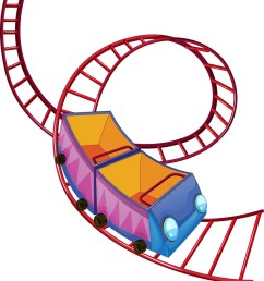 a ride royalty free carnival clipart roller coaster banner transparent library [ 842 x 1080 Pixel ]