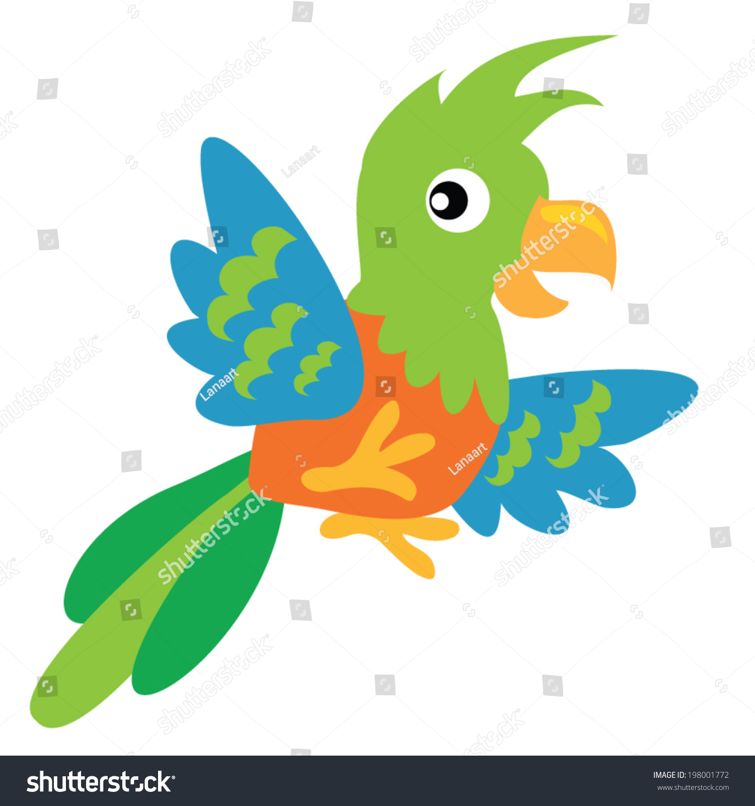 hight resolution of vector illustration stock shutterstock safari clipart parrot clipart download