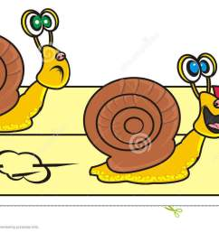 of two snails stock snail clipart snail race png transparent library [ 1300 x 764 Pixel ]
