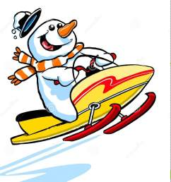 snowmobile clipart snowman png black and white library [ 1389 x 1300 Pixel ]